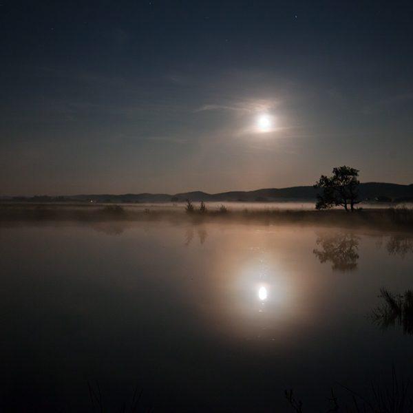 Nachts im Großen Torfmoor