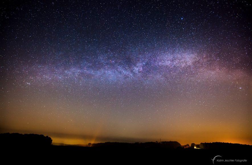 Sternwarte Melle - Blick zur Milchstraße