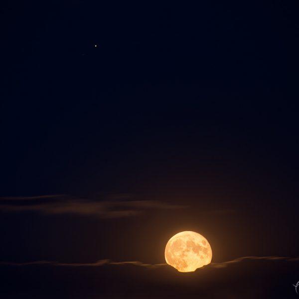 Mond & Jupiter am 05. Juli 2020